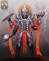 Roger Zelazny's Lord of Light: Vishnu by jubjubjedi
