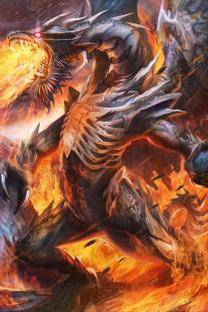 Black Dragon by jubjubjedi