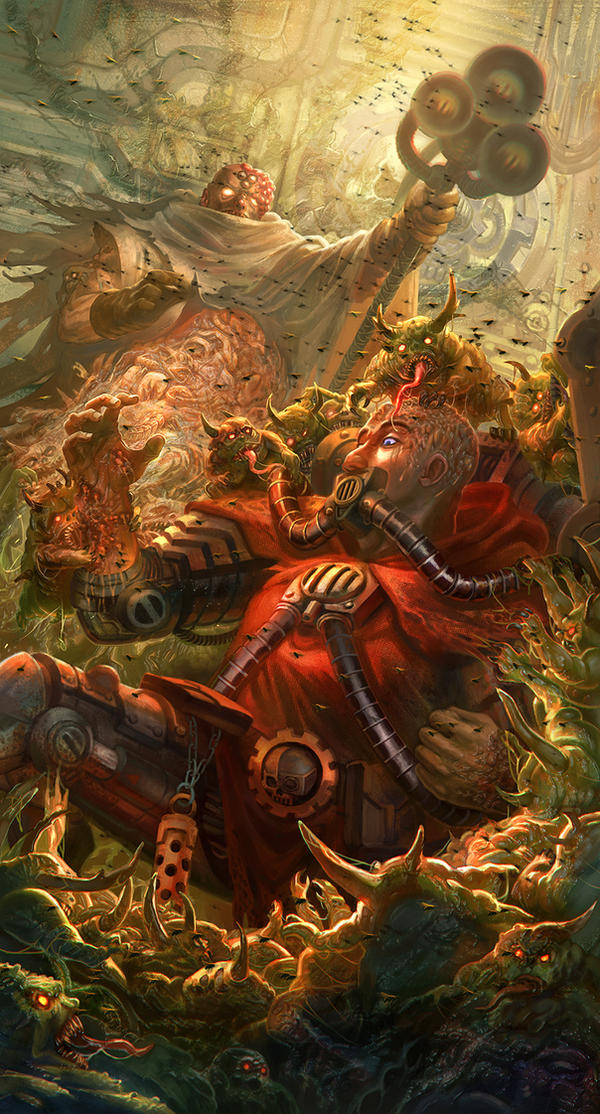 Nurgle's Blessing - Warhammer 40K:Tome of Decay: by ...
