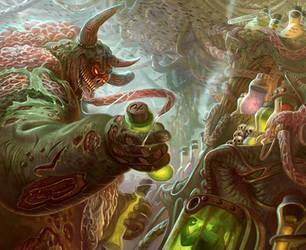Vile Laboratory - Warhammer 40K: Conquest by jubjubjedi