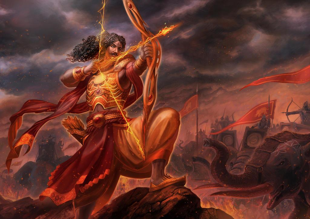Karna - Maha Yodha by jubjubjedi