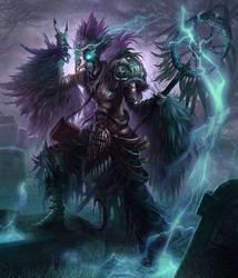 Male Necromancer by jubjubjedi