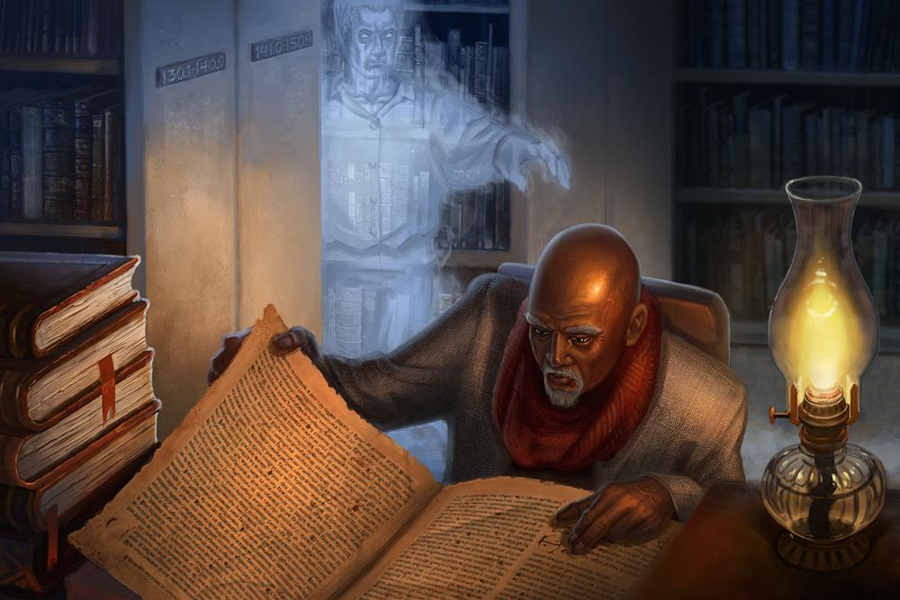 Occult Investigator by jubjubjedi