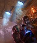 Orange Lady Cantina- Star Wars:Lords of Nal Hutta