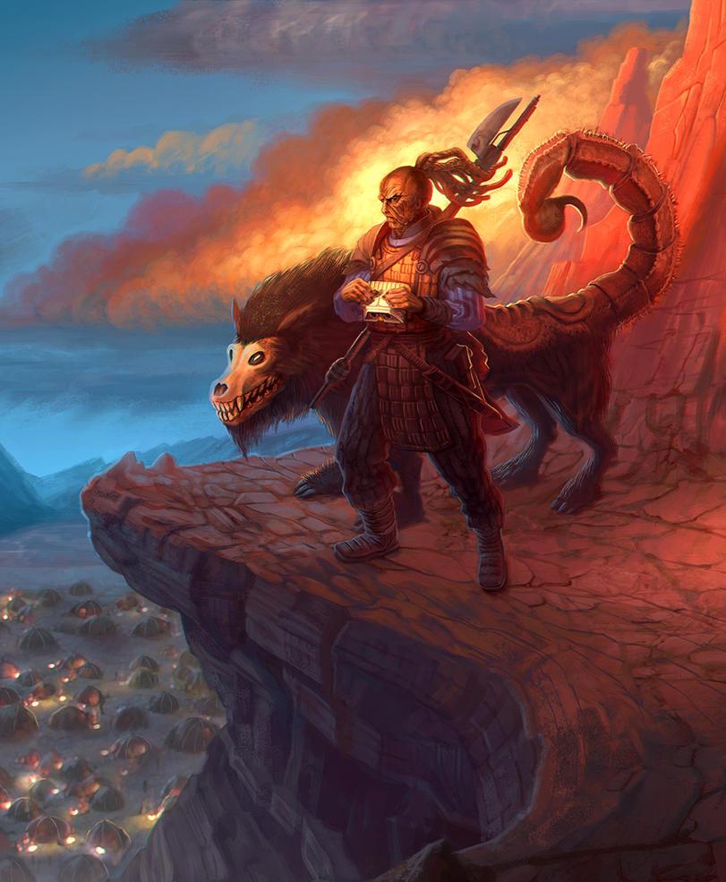 Raquor'daan Beastmaster - SW:Lords of Nal Hutta by jubjubjedi