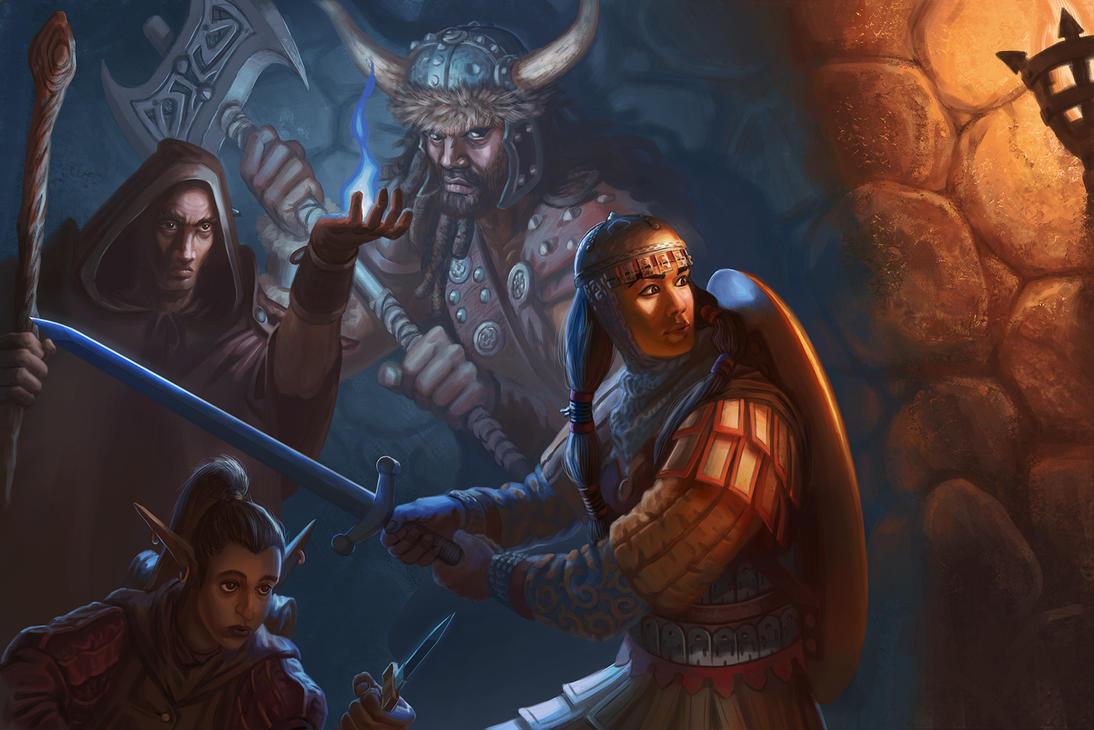 Dungeon Explorers by jubjubjedi