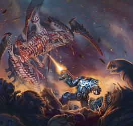 Vengeance - Warhammer 40,000: Conquest by jubjubjedi