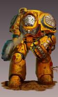 Terminator - Warhammer 40,000: Relic Expansion by jubjubjedi