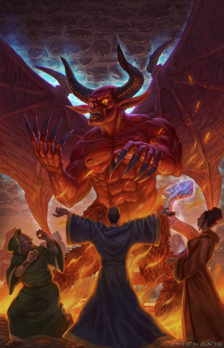 Demons of Astlan Cover by jubjubjedi