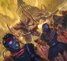 Strangler Brood - Warhammer 40,000: Conquest by jubjubjedi