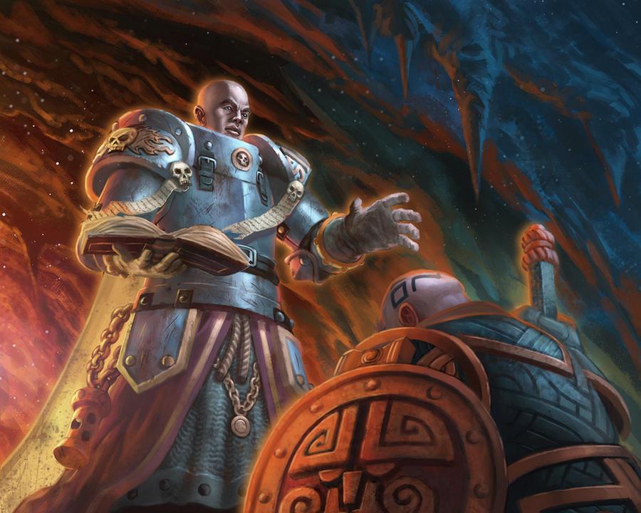 Faith Rewarded - Warhammer Quest:The Card Game by jubjubjedi