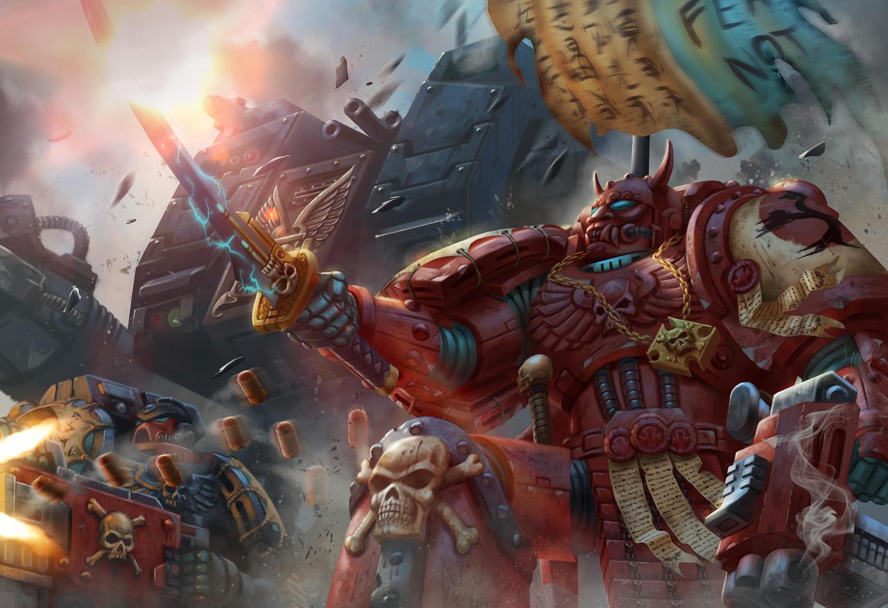 Emperor's Shadows 2 - Warhammer 40,000 Fan Art