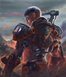 Battle Exoskeleton Level 3 - Outcast Odyssey