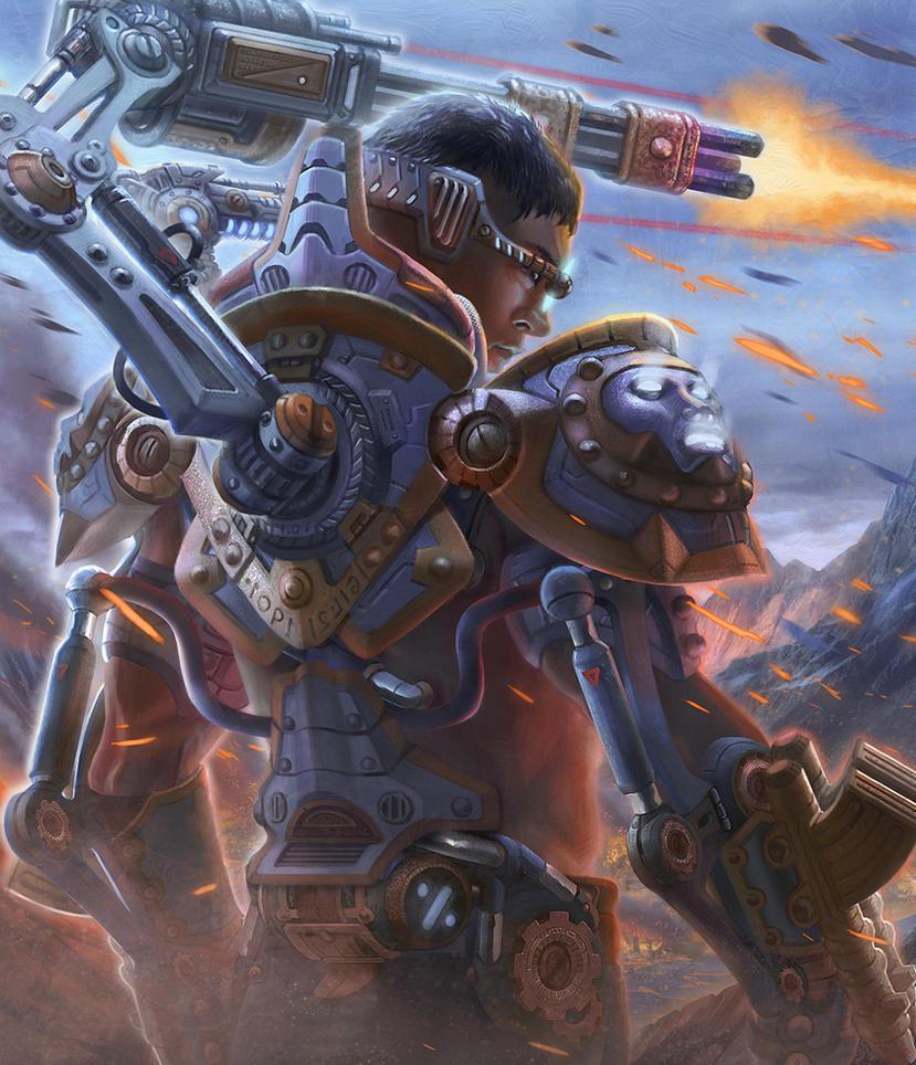 Battle Exoskeleton Level 4 - Outcast Odyssey by jubjubjedi