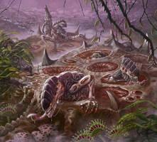 Loamy Broodhive - Warhammer 40,000: Conquest by jubjubjedi