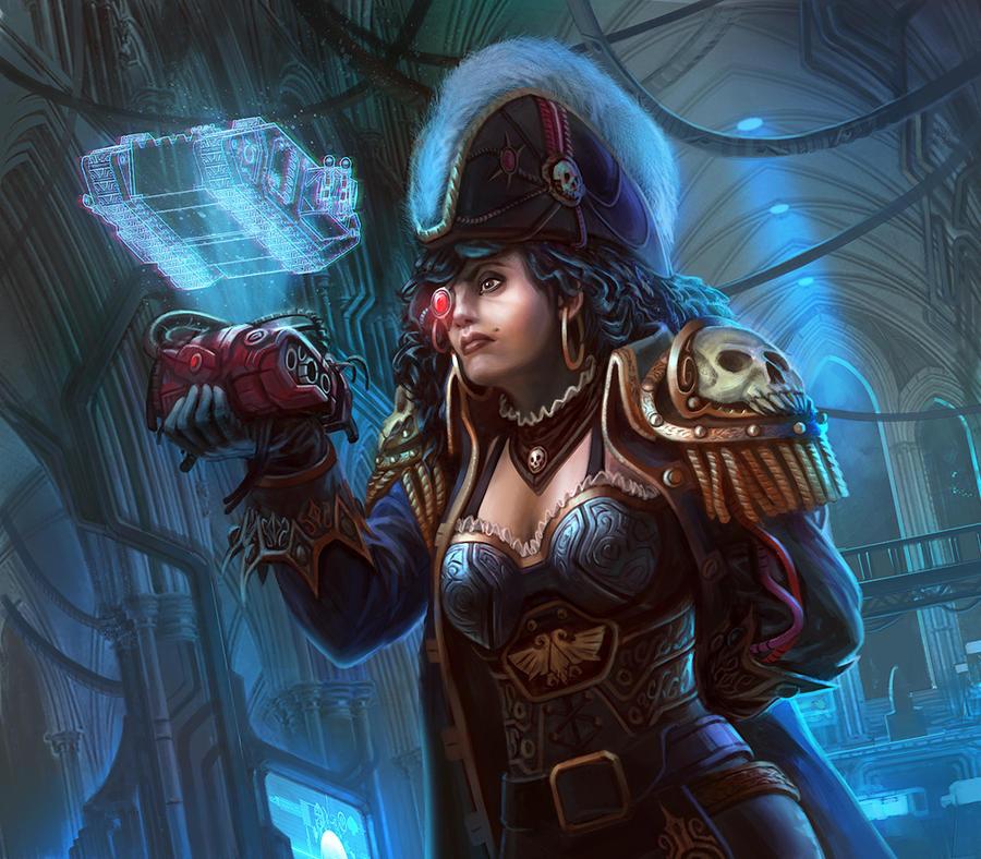 STC Fragment -Warhammer 40,000: Conquest by jubjubjedi