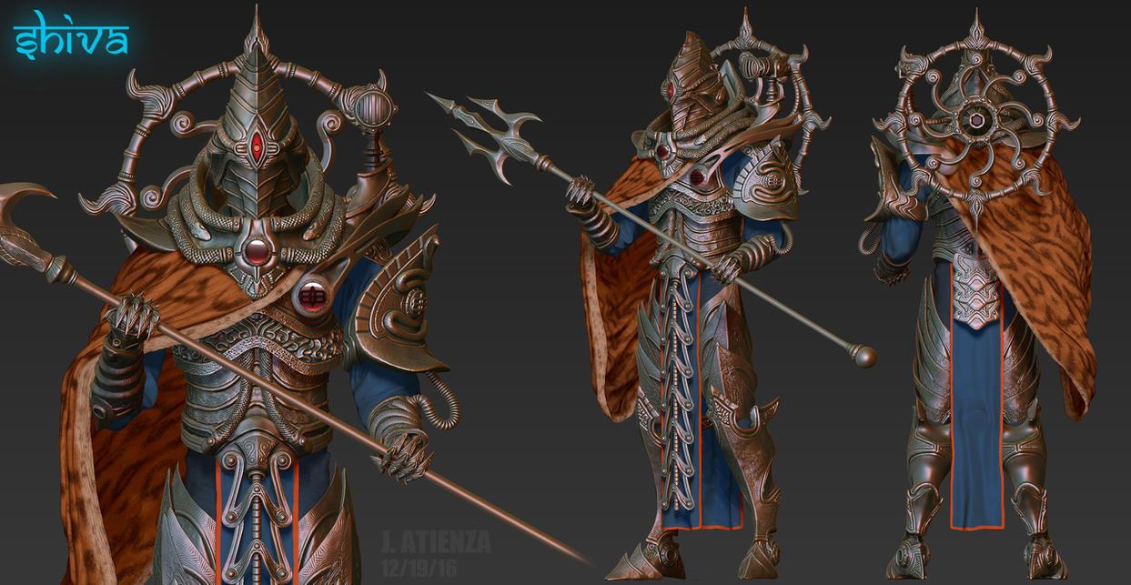 Lord of Light - Shiva by jubjubjedi