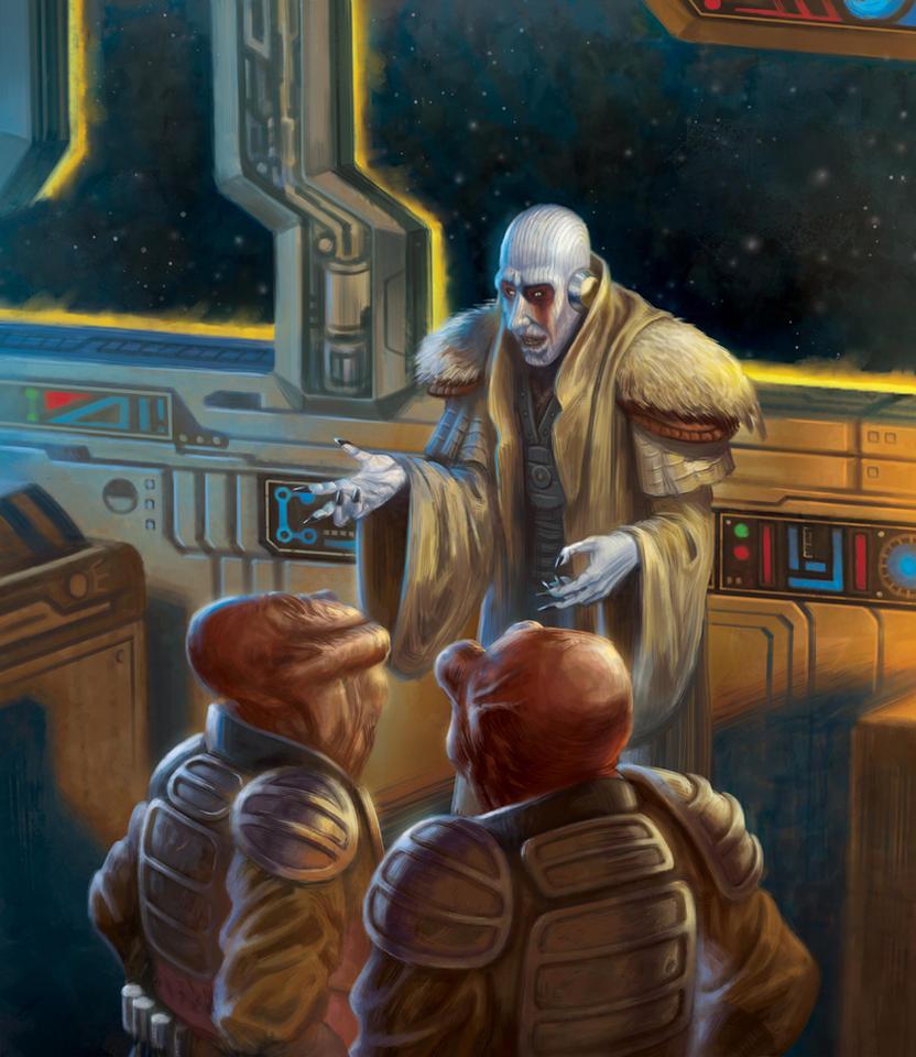 Pauan and Utai: Star Wars - Force and Destiny by jubjubjedi