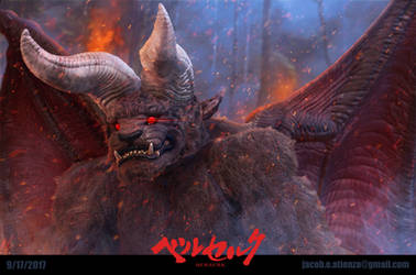 Zodd - Berserk Fan Art by jubjubjedi