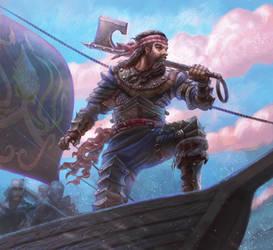 Coastal Reaver : Game of Thrones by jubjubjedi