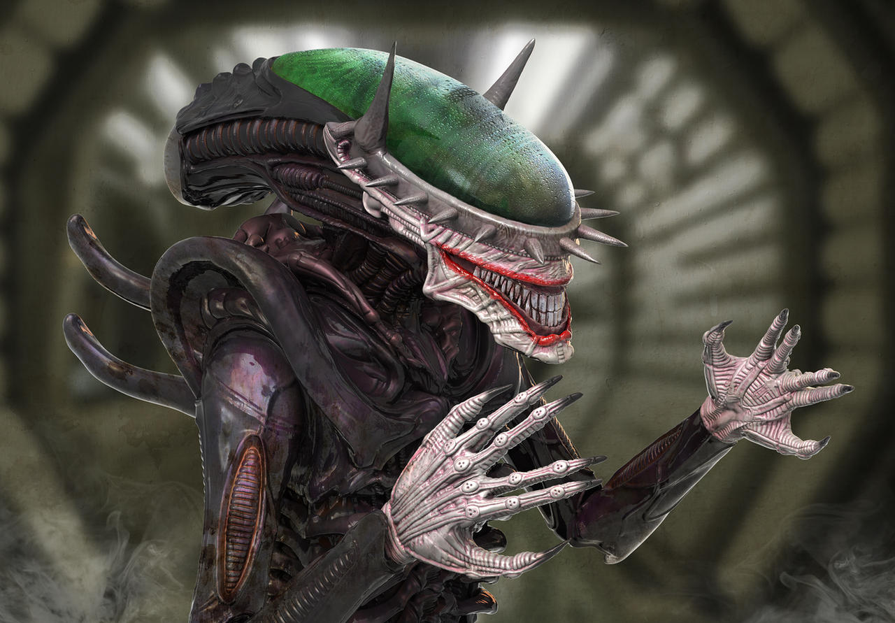 The Alien Who Laughs