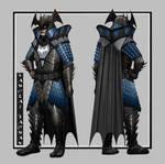 Samurai Armor Batman