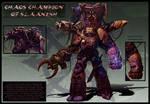 Chaos Champion of Slaanesh