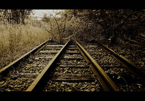 Railway to nowhere by Elessar91