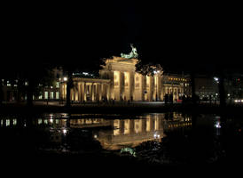 The Brandenburg Gate by Elessar91