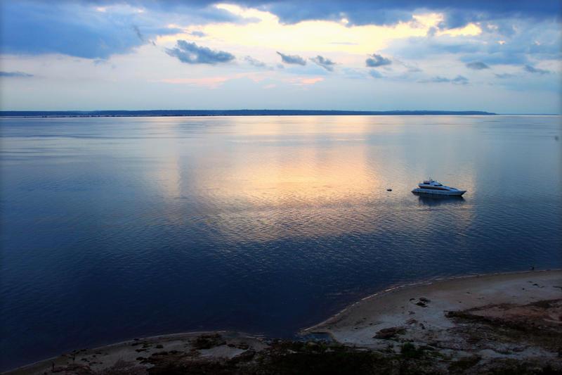 Sunset Rio Negro by Elessar91