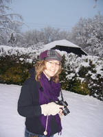 Me with camera in snow by Itti