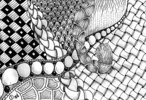 Zentangle by Itti