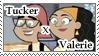 TuckerxValerie Stamp by Linariel