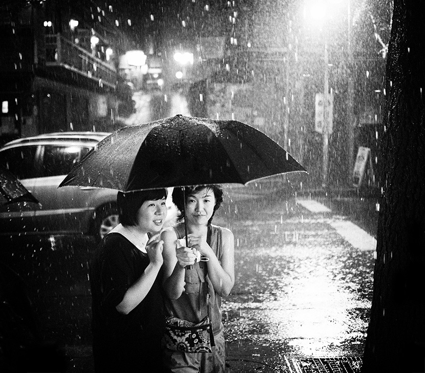 Together in the Rain by erickimphoto