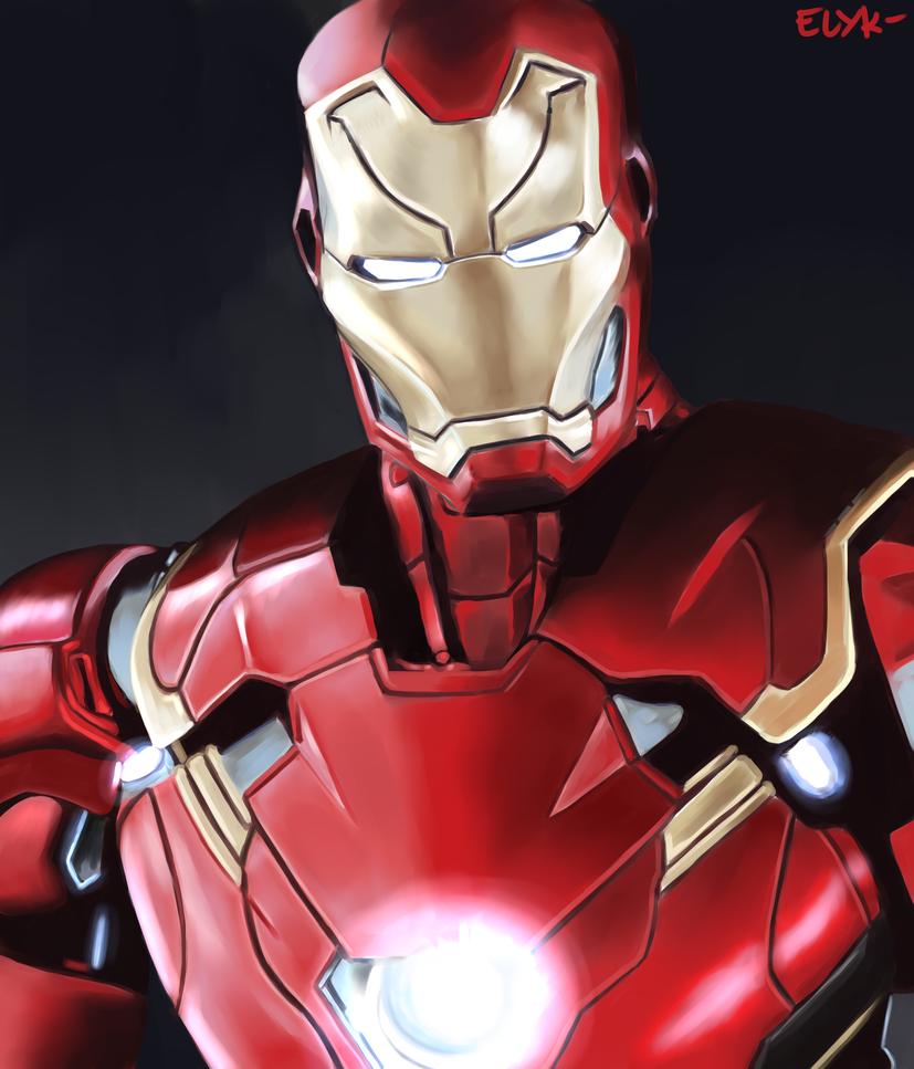 Iron Man by Kl0y