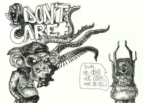 Ape don't care