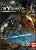 StarWars: Sith vs. Jedi by feuerkorn
