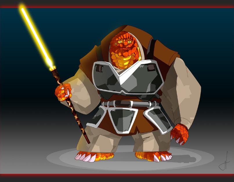 StarWars: Master Worian by feuerkorn