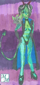 17 Oct 2014 Yami Toxic Green Devil Tail Suffering