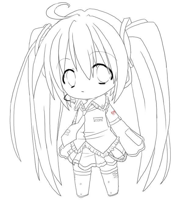 Hatsune Miku Chibi by ChibiFreak12 on DeviantArt