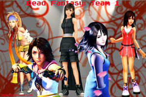 Dead Fantasy: Team 1 by Kiyamasho