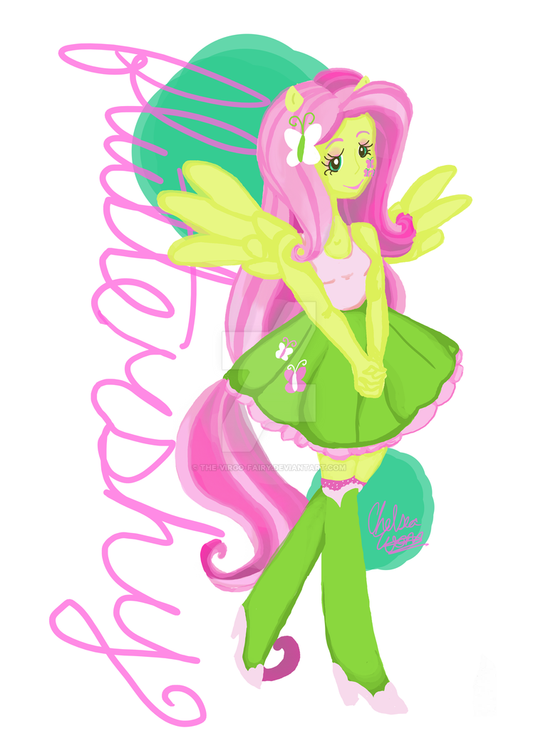 Fluttershy Equestria Girls by The-Virgo-Fairy on DeviantArt: the-virgo-fairy.deviantart.com/art/fluttershy-equestria-girls...