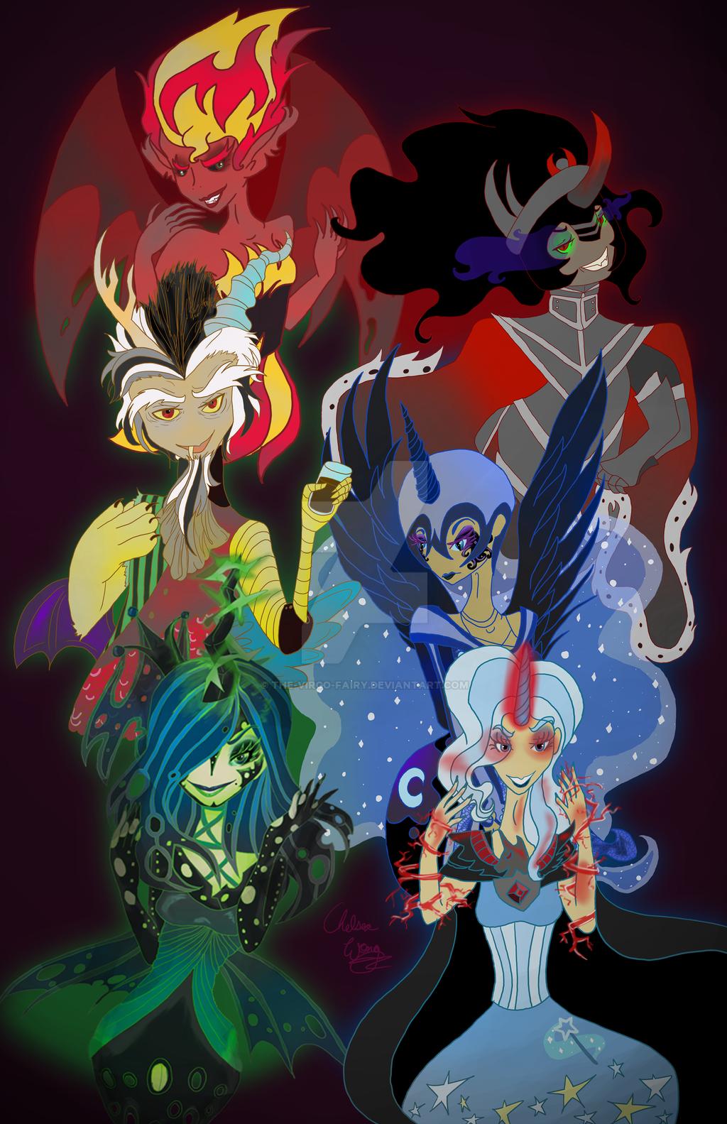Mlp Villains Together By The Virgo Fairy On Deviantart