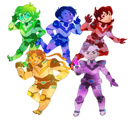 Voltron by The-Virgo-Fairy