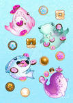 Sea Creatures and Donuts 2