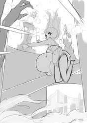 Madoka Magica To The STARS More fight scenes! by toxicguest