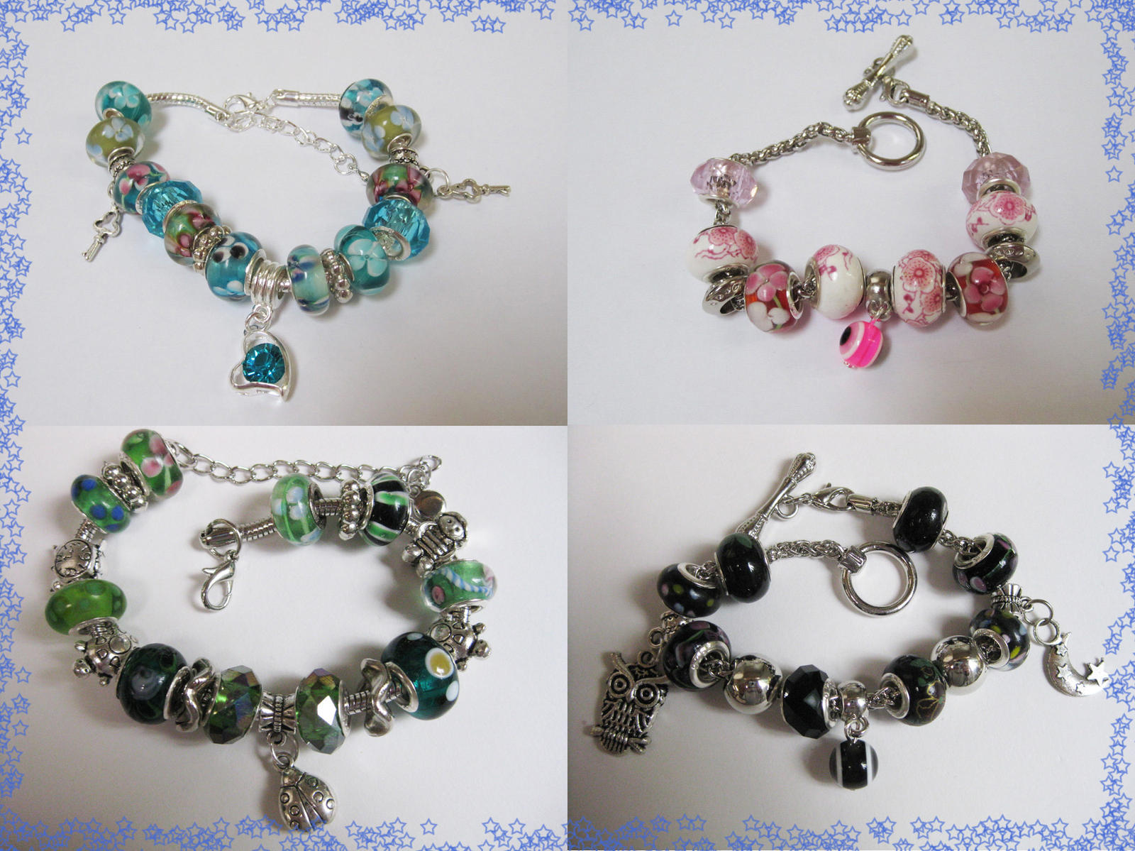 European bracelets for sale 3 by Pameloo