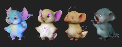 360 Degree 3D Adopts: Squikers [4/4 OPEN]