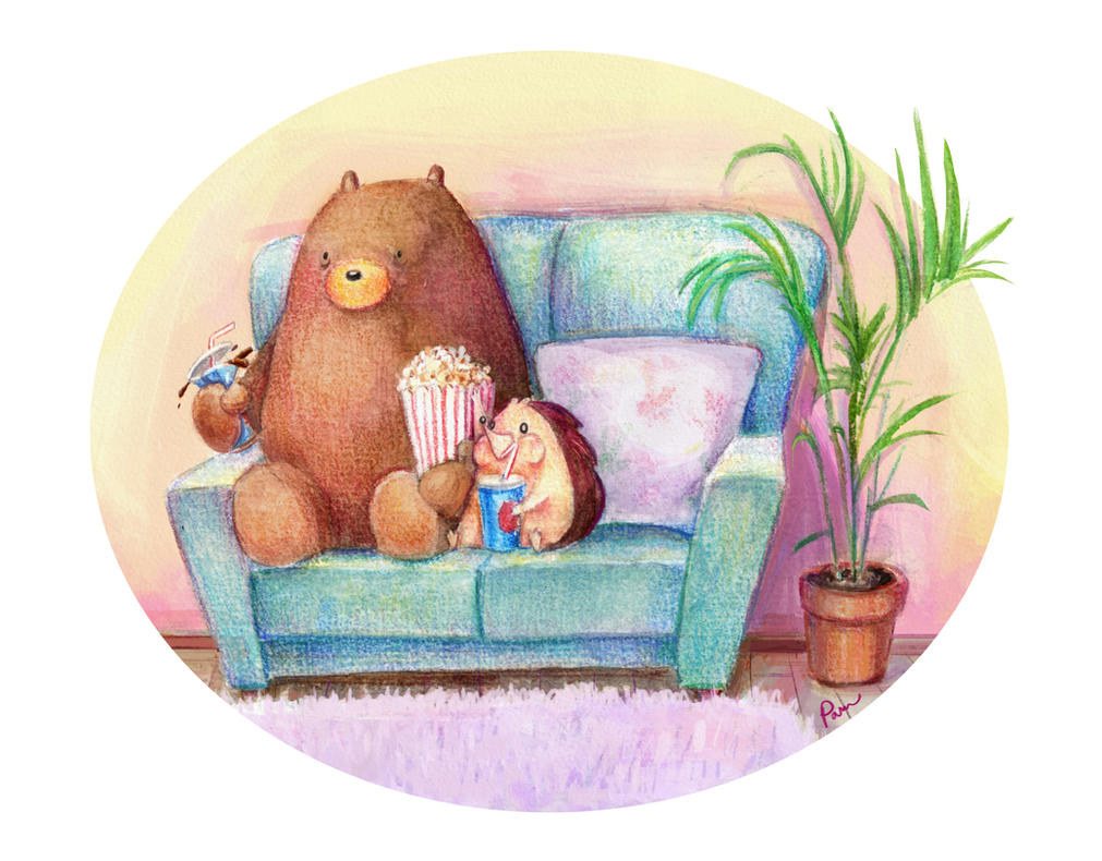 Hedgehog and Bear: Movies by Pameloo