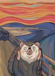 The Scream Hedgehog